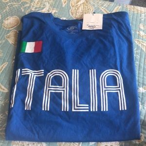 MLS Italia Italy Soccer T Shirt